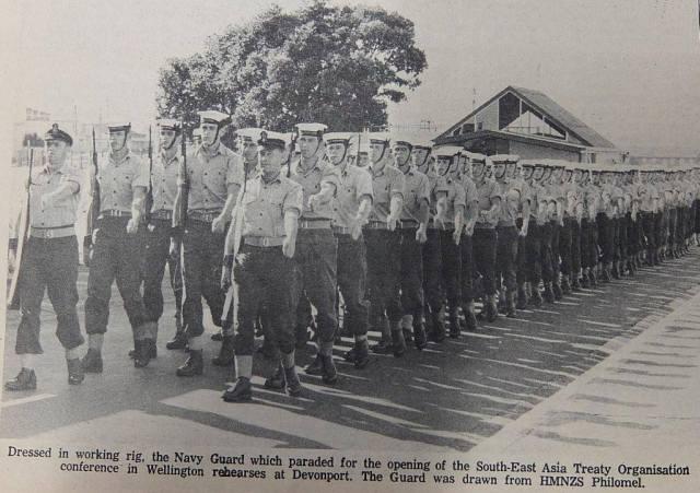 SEATO Guard Feb 1968
